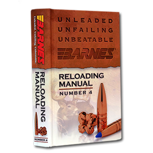 Barnes Reloading Manual: Best Barnes Reloading Data Manual
