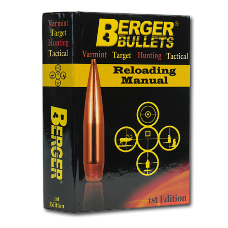 Berger Reloading Manual - Berger Bullet Load Data