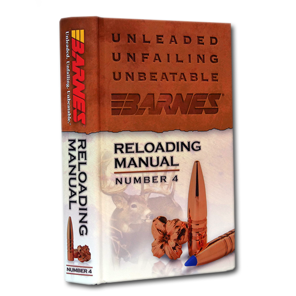barnes reloading manual number 4 rifles and recipes 86302