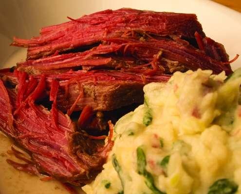 Venison Corned Beef