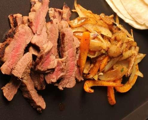 Rowdy Brined Elk Fajitas Recipe