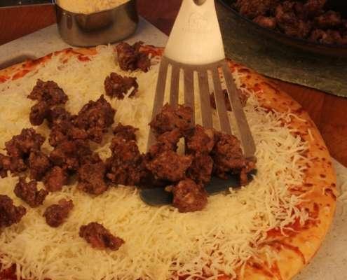 Italian Fennel Sausage Pizza
