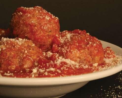 Venison Spaghetti and Meatballs